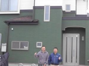 お客様の声 越谷市谷中町のM様に塗装工事完了